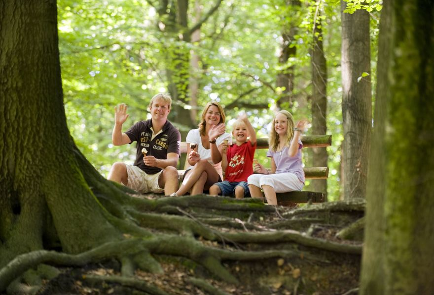 Geocaching quer durch den Wingster Wald